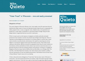 Mike Quieto for Dane County Clerk