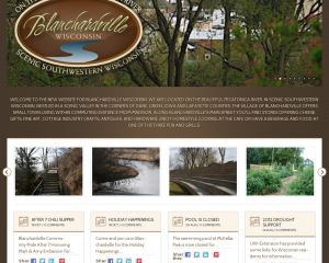 Blanchardville Identity and Website