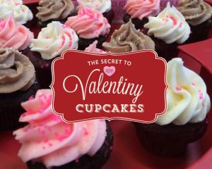 Very Valentine Cupcakes Infographic