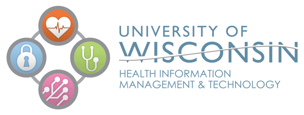 University of Wisconsin Health Information Management & Technology Logo