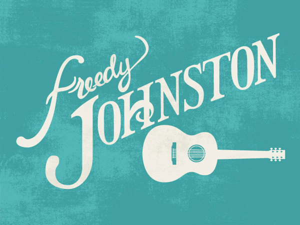 Freedy Johnston Lettering