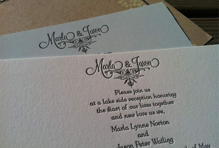 WeddingInvitesLetterpress